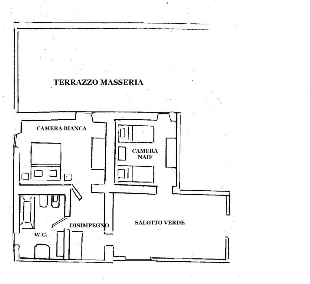 Masseria Murgia Albanese - White Room - Map