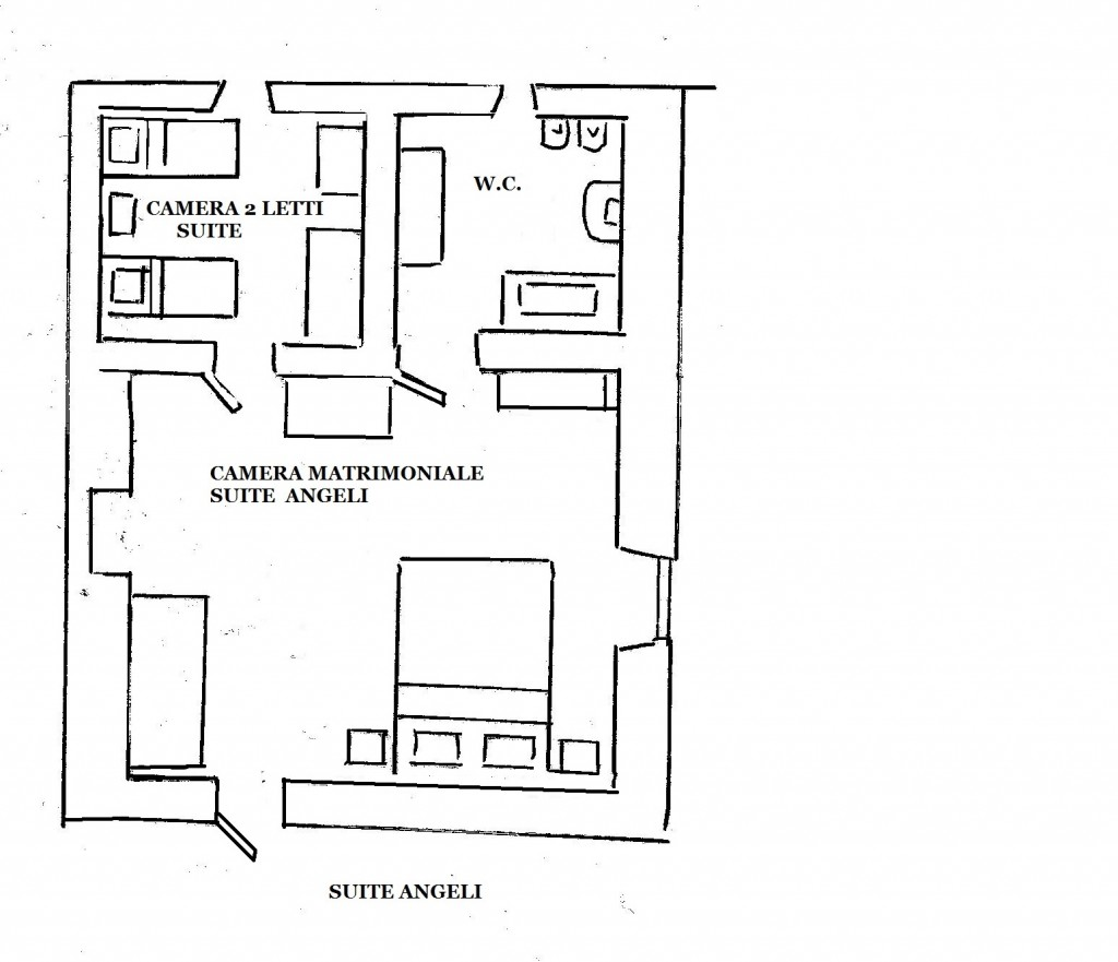 Masseria Murgia Albanese - Angeli suite Map