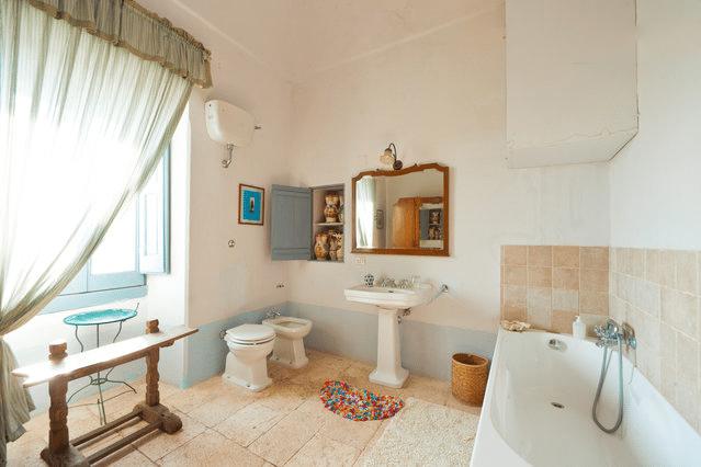 Masseria Murgia Albanese - Suite de l'Ange - La salle de bain