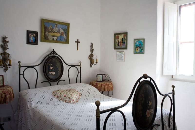 La Masseria Murgia Albanese - chambre blanche