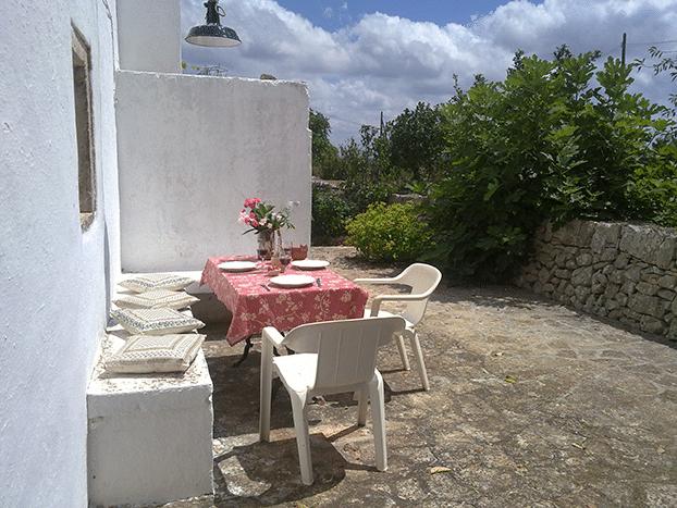 La Masseria Murgia Albanese - DEPENDANCE - la terrasse